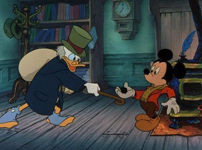 Mickey S Christmas Carol Disney Personajes Invierno