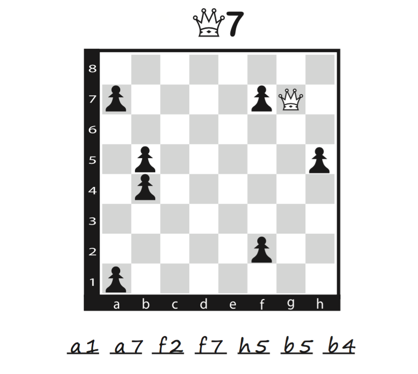 image regarding Printable Chess Puzzles titled Pin upon Chess Puzzles