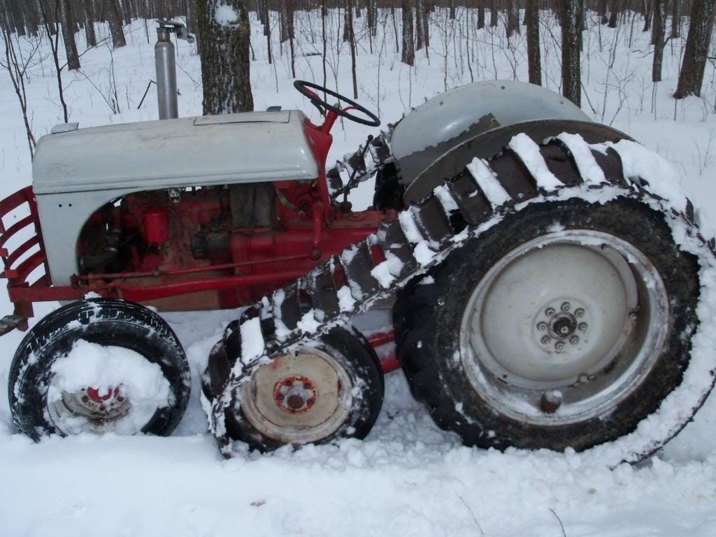 8N with half tracks - price? - Yesterday's Tractors | Stuff