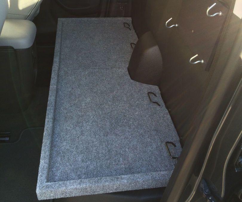 2011 Silverado Crew Cab Rear Seat Removal