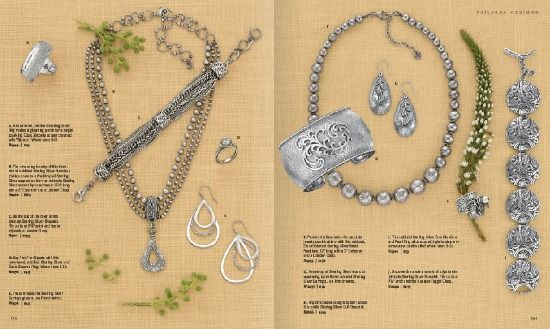 Jewelry Catalog Layout  Print Design    Catalog Layout