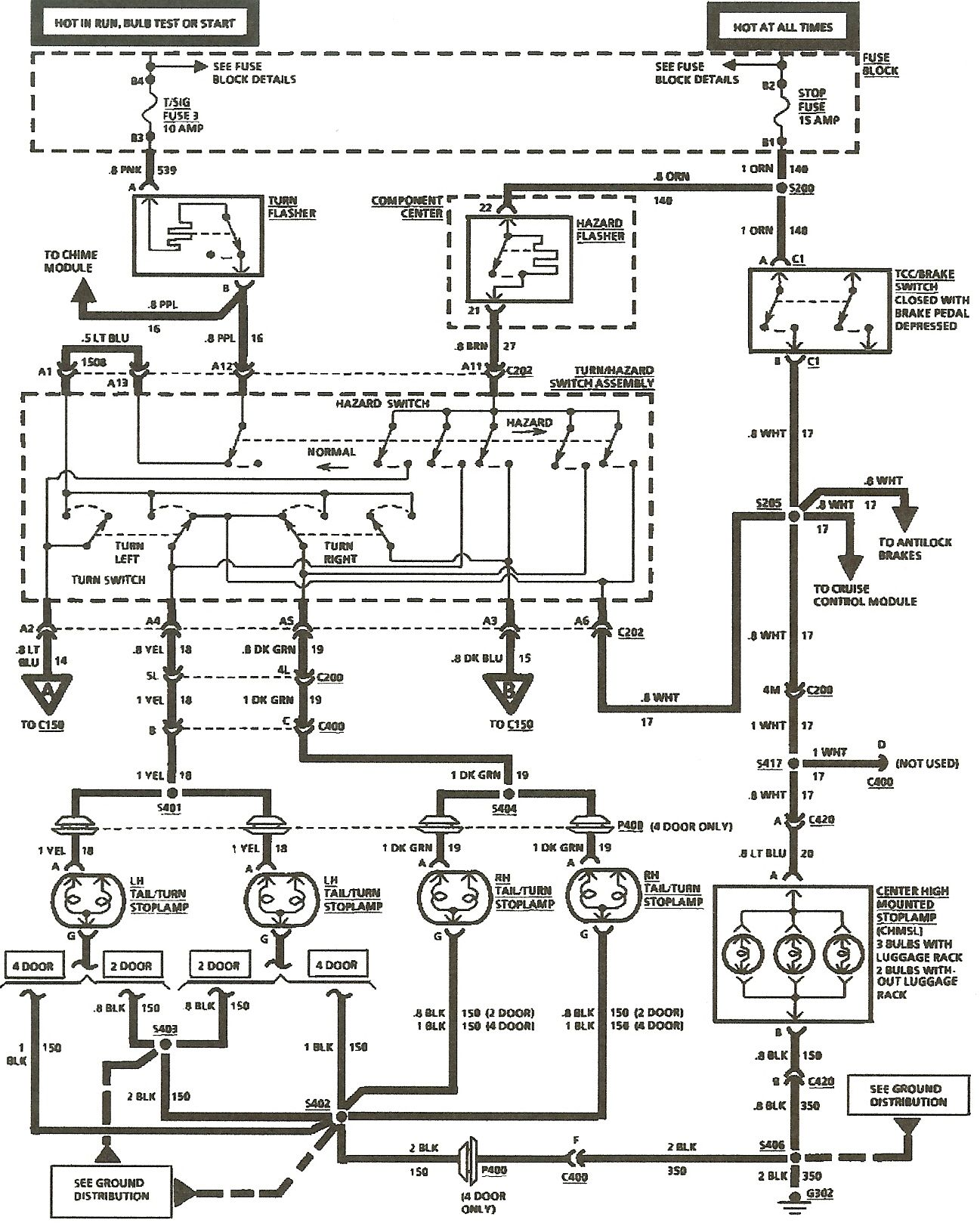 everlasting turn signal wiring diagram wiring library 8 wire turn signal wiring diagram everlasting turn signal [ 1297 x 1623 Pixel ]