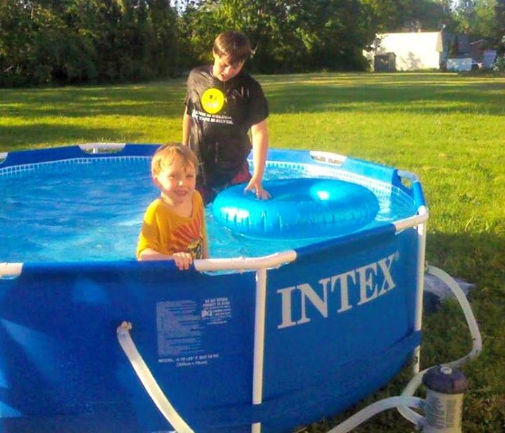 my kids have had so much fun with this intex 10 foot x 30 frame swimmingswimming poolspayedintex