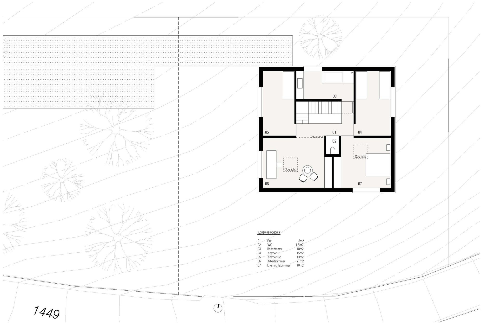 Gallery Of Haus Fontanella Bernardo Bader Architects 13 Architect House Drawing Modern House Plans
