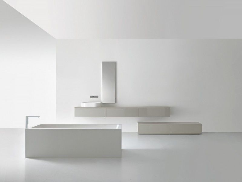 Casabath badkamerkasten hebben een minimalistisch design zijn