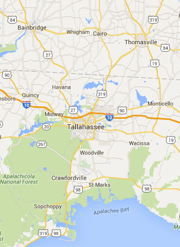 Google Maps Tallahassee Florida Pinterest - Google maps florida