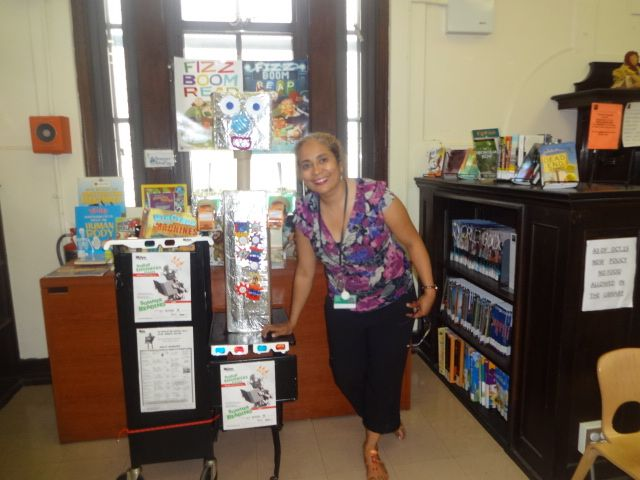 Juana Flores Librarian At The Carroll Gardens Branch Of The Brooklyn Public Library Introduces