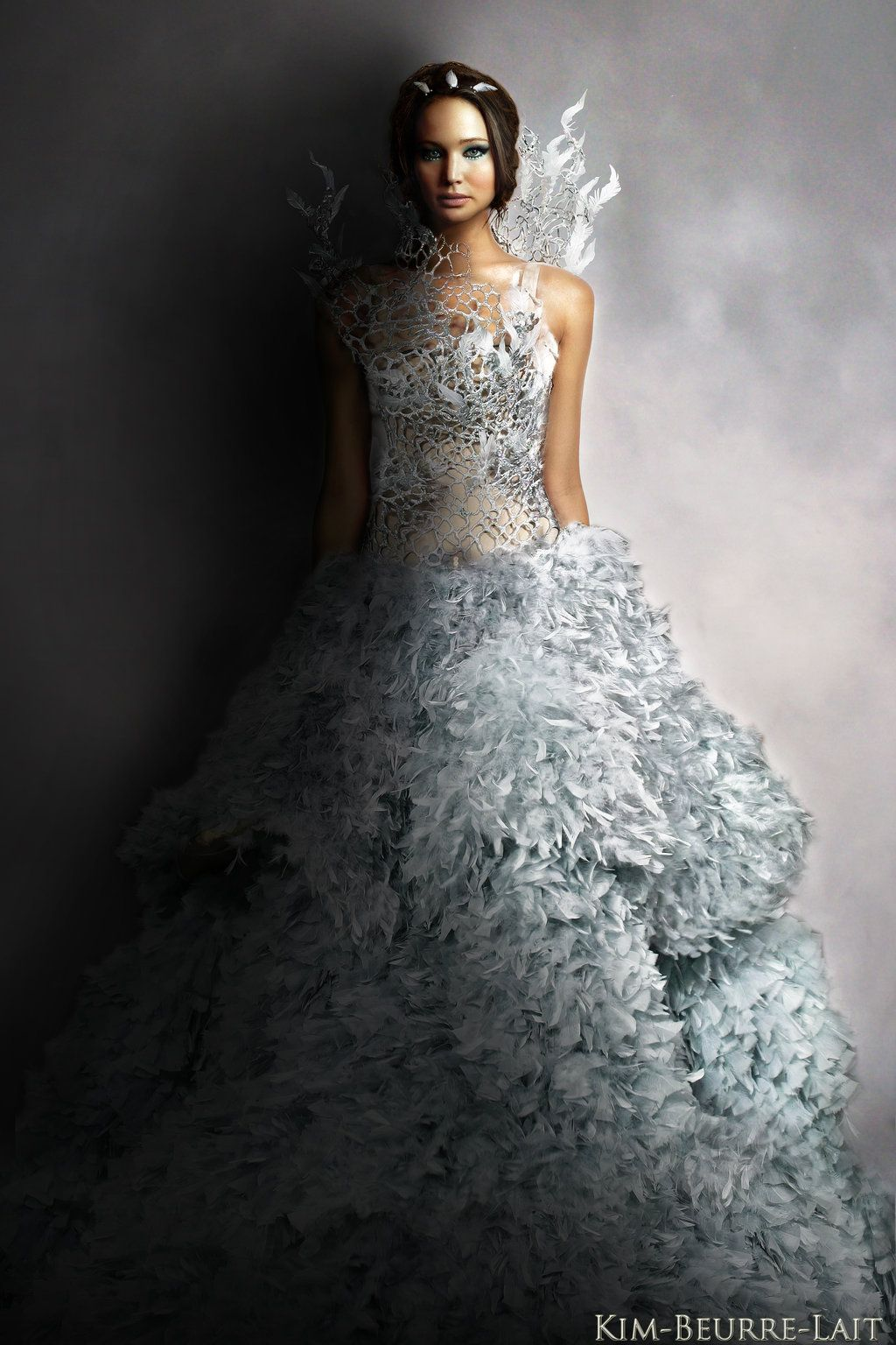 The hunger games catching fire katniss wedding dress designer - The Hunger Games Catching Fire Impeccable Dress
