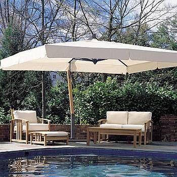Giant 10x13ft Rectangle Sidepost Umbrella #largeumbrella