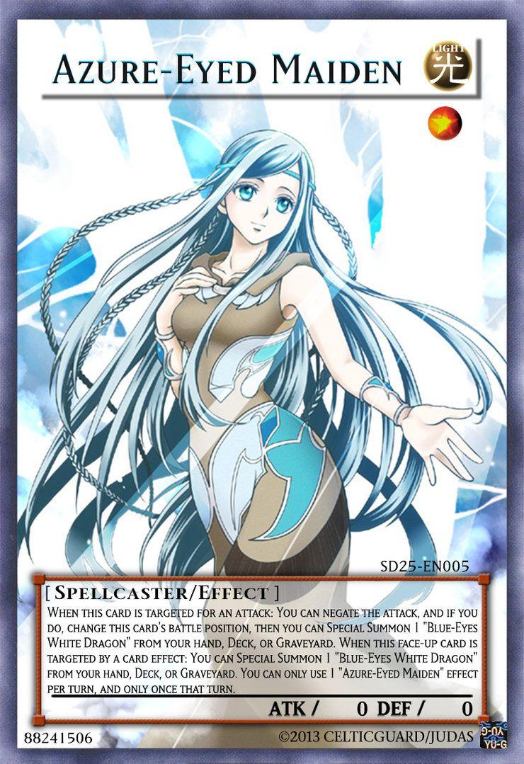 Azure-Eyed Maiden by 1157981433.deviantart.com on ...