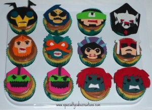 he-man and the masters of the universe cake | ... Cake Creations | He-Man Cake and Masters of the Universe Cupcakes
