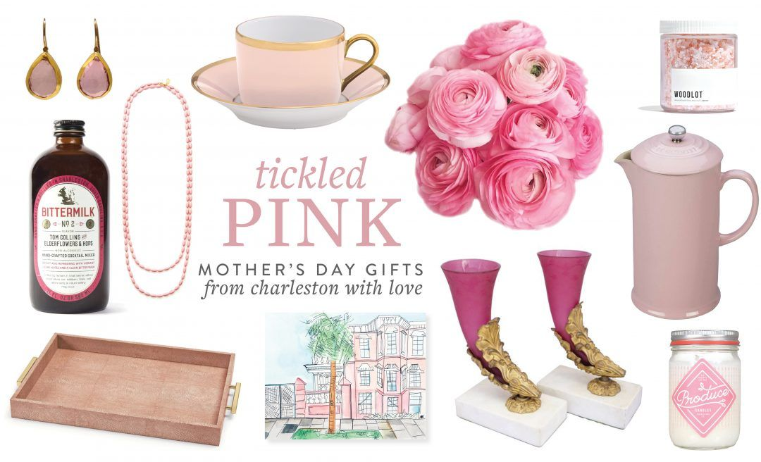 It's no secret that #Charleston is home to a wide array of specialty boutiques, antiques emporiums, and locally-made artisanal products. Our #PlantersInn guests often enjoy shopping along famed King Street, mere steps away from our #hotel. This Mother's Day, express your affection with a rosy-hued gift from this thoughtfully selected collection of items found at some of our favorite #CharlestonSC shops.