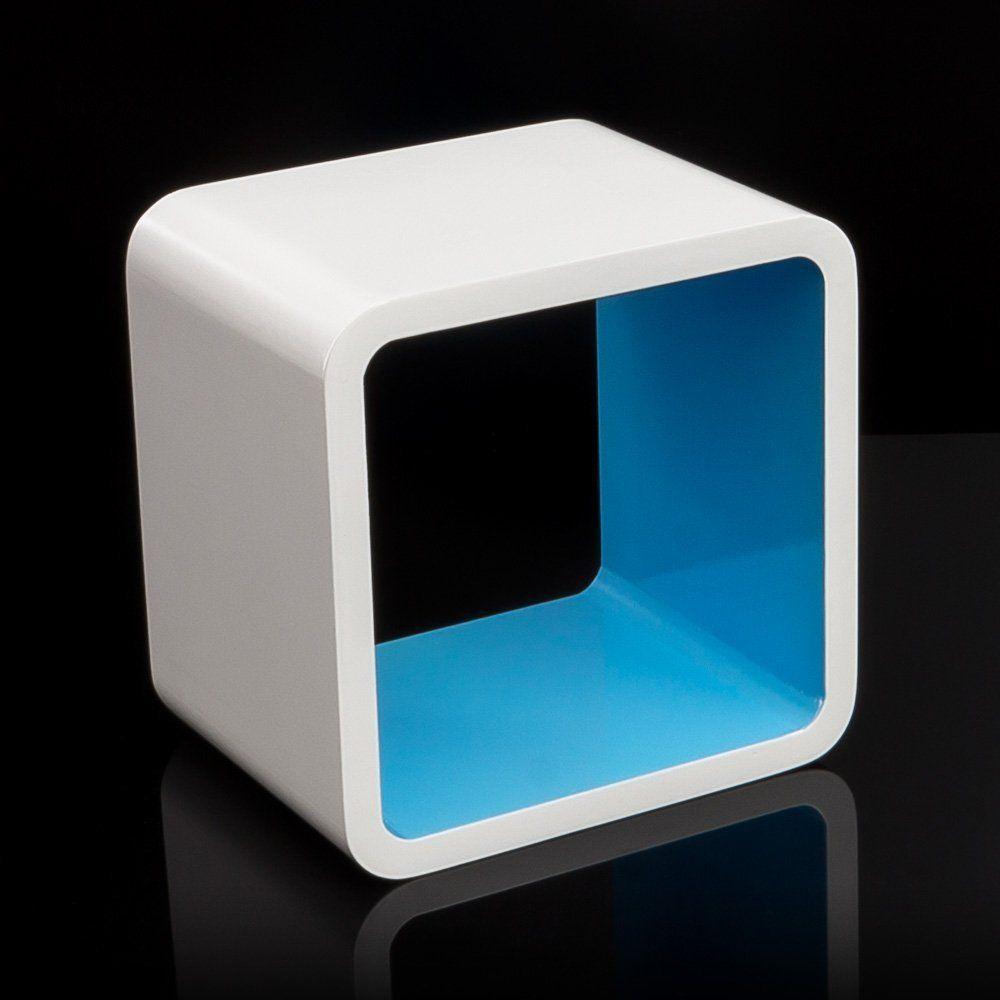 Cube Wandregal CD Regal Hängeregal Bücherregal Würfel Cubes bunt