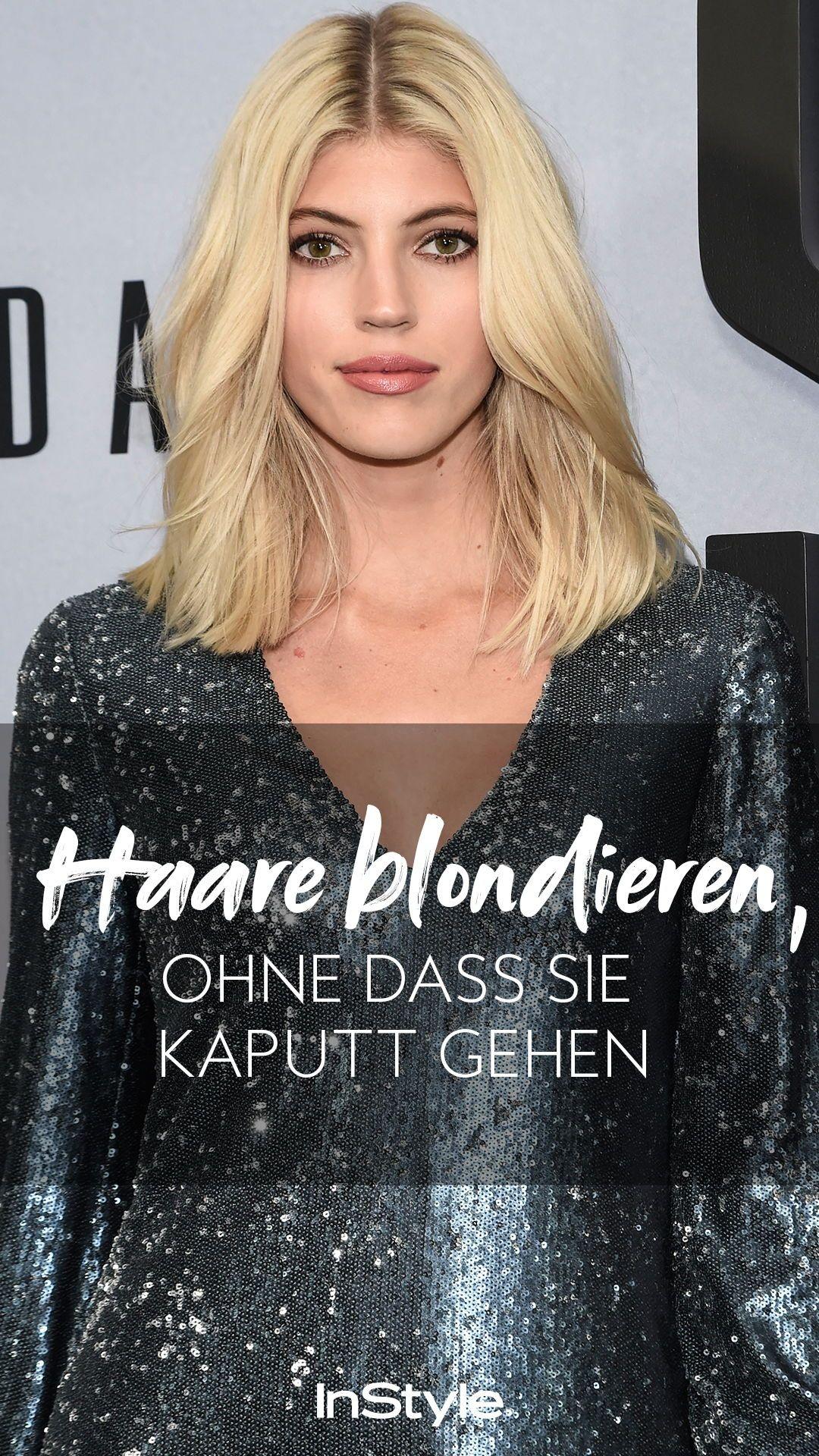 Blondieren haare kaputt vom sehr dünne
