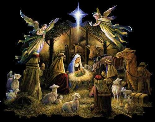 baby-jesus-in-a-manger-images-25.jpg (500×392) | Christmas scenes, Animated christmas, Christmas night