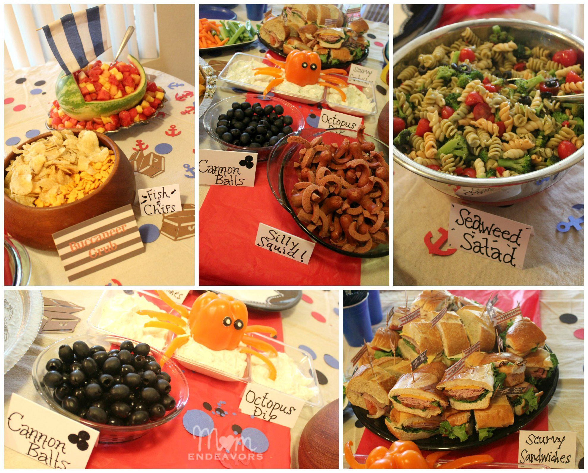 Adult pirate party ideas - Pirate Party Food For Alexavier S Jake And The Neverland Pirate Birthday Party