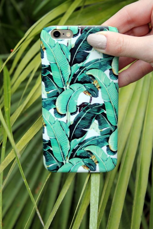 custom palm print phone case with CaseApp