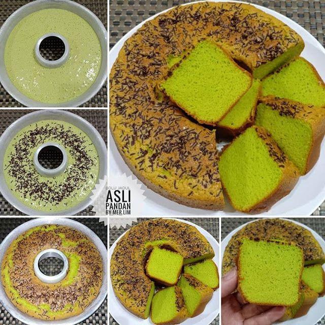 Kumpulan Resep Masakan Nusantara Resep Dan Cara Membuat Cake Jadul Pandan Sederhana Bolu Pandan Makanan Masakan