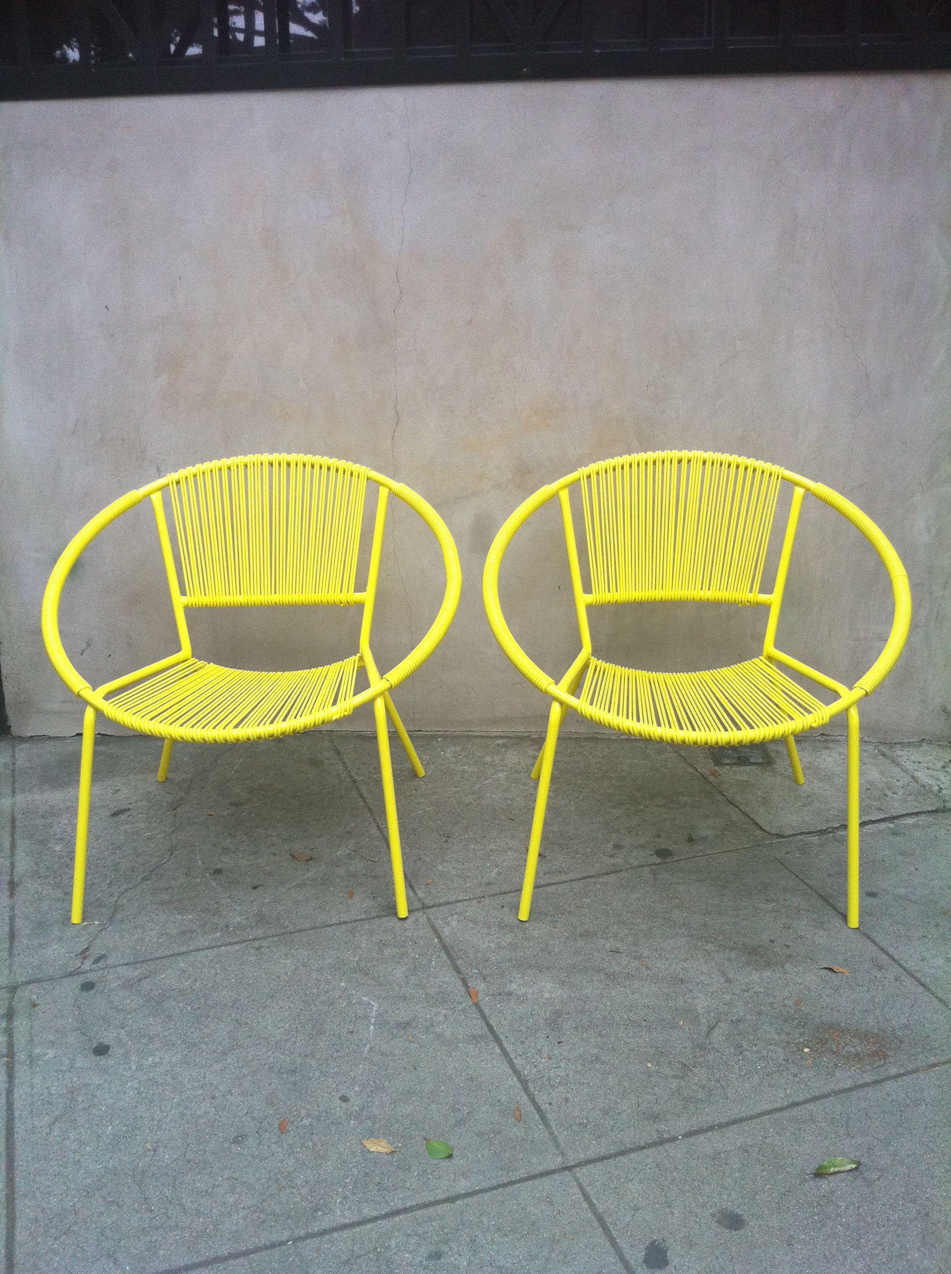 Cool Bright Retro Chairs Outside Retro Furniture Retro Home Machost Co Dining Chair Design Ideas Machostcouk