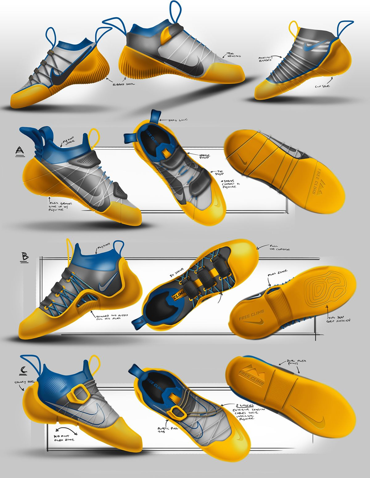 Nike Free Climb Concept on Industrial Design Served