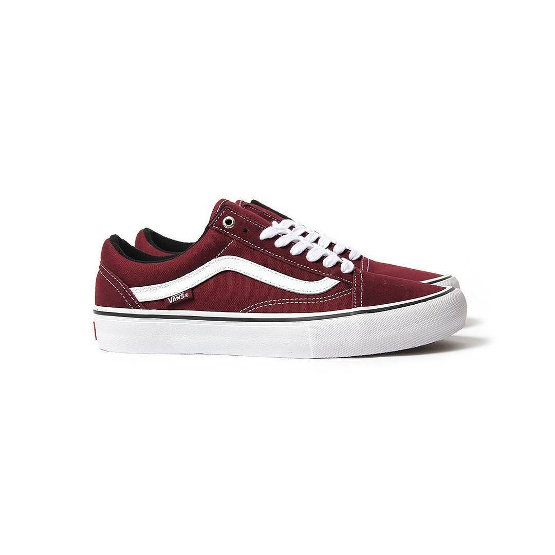 278e0ec2584da Repost  Vans Old Skool Pro (Port Wine White) now available in store and  online at  cncpts Cambridge.  cncpts  vans  oldskool by cncpts