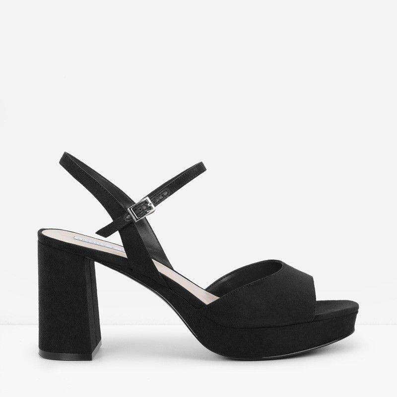 d7c3305fe29a Block Heel Platform Sandals