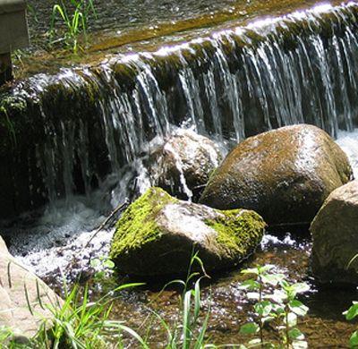 Bauanleitung: Bachlauf selber bauen | Garten | Pinterest ...