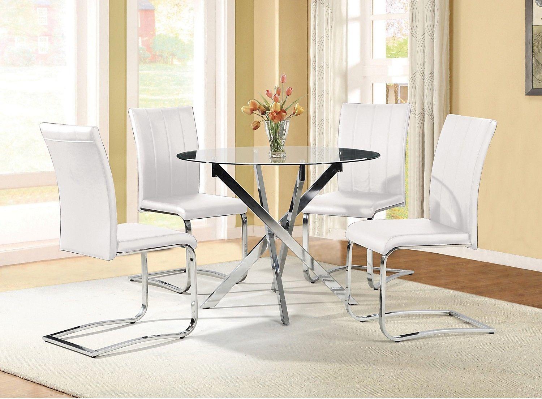 the bricks furniture. $600 Tori 5-Piece Dining Package - White | The Brick Bricks Furniture