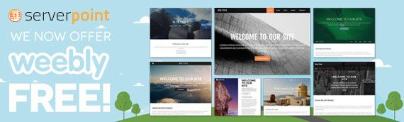 free weebly template
