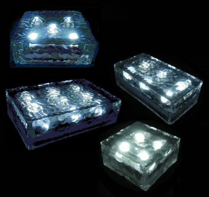4 X 8 Solar Led Paver Light Thumbnail 1