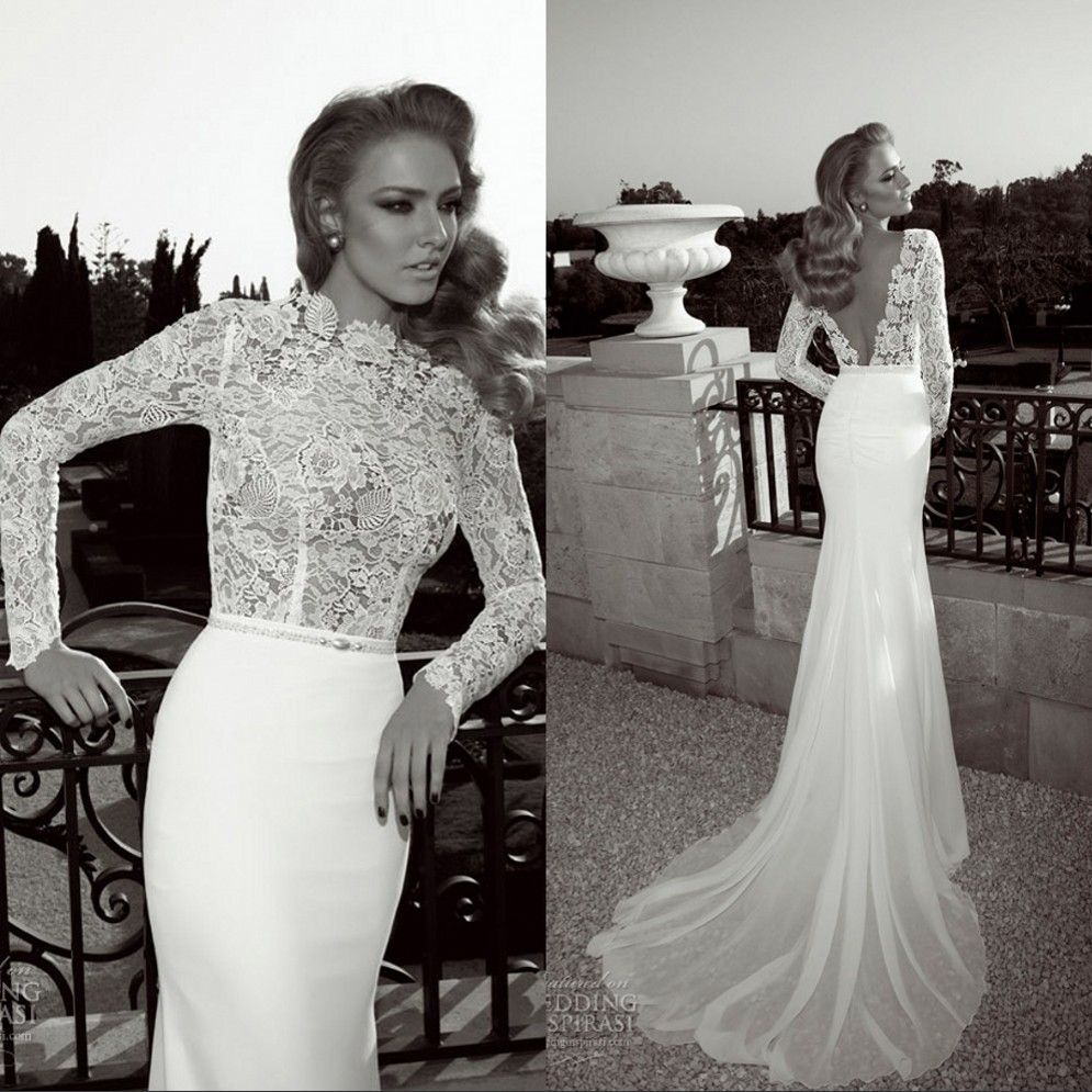 Click to buy ucuc sexy ruffles vintage arabic wedding gowns long