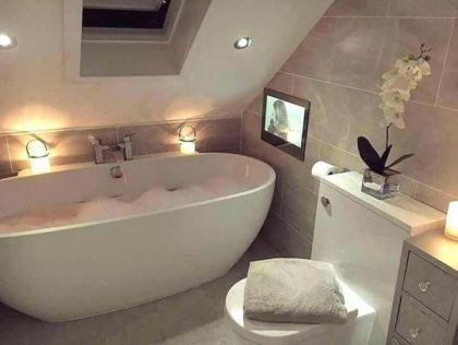 Easy Bathroom Design Ideas With A Small Tubs 58 Small Bathroom With Tub Top Bathroom Design Simple Bathroom