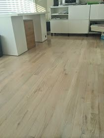 Duraseal Country White Over Red Oak Flooring Wood