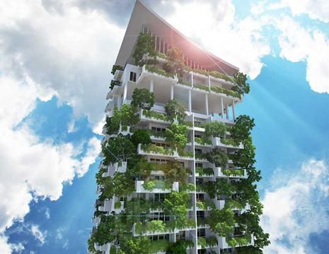 La tour d 39 appartements de 46 tages sera le premier gratte ciel durable a - Plus grand gratte ciel ...