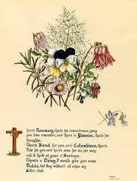 Ophelia S Flowers Shakespeare Tattoo Pansy Tattoo Hamlet And Ophelia