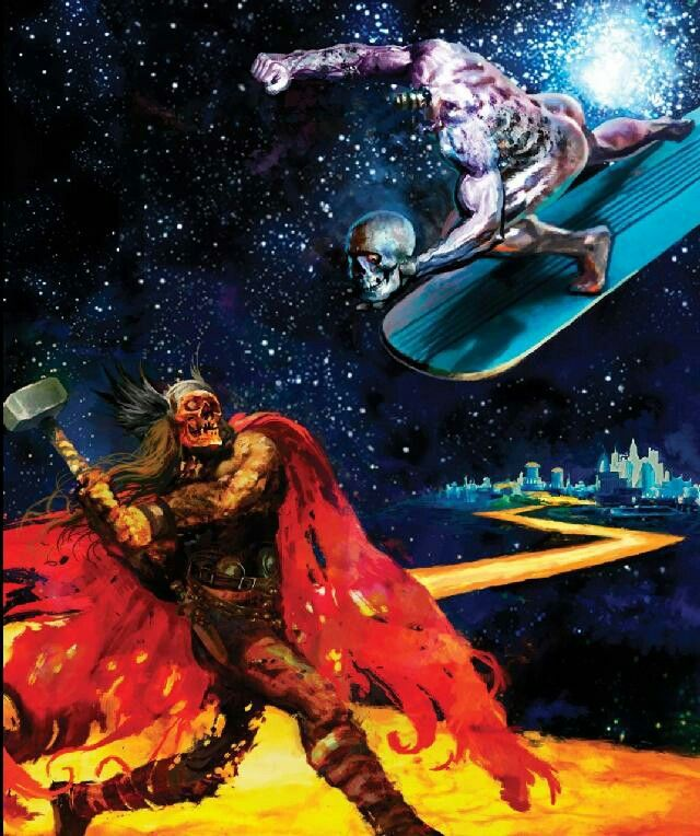 Zombie Thor vs Zombie Silver Surfer | Thor of Asgard