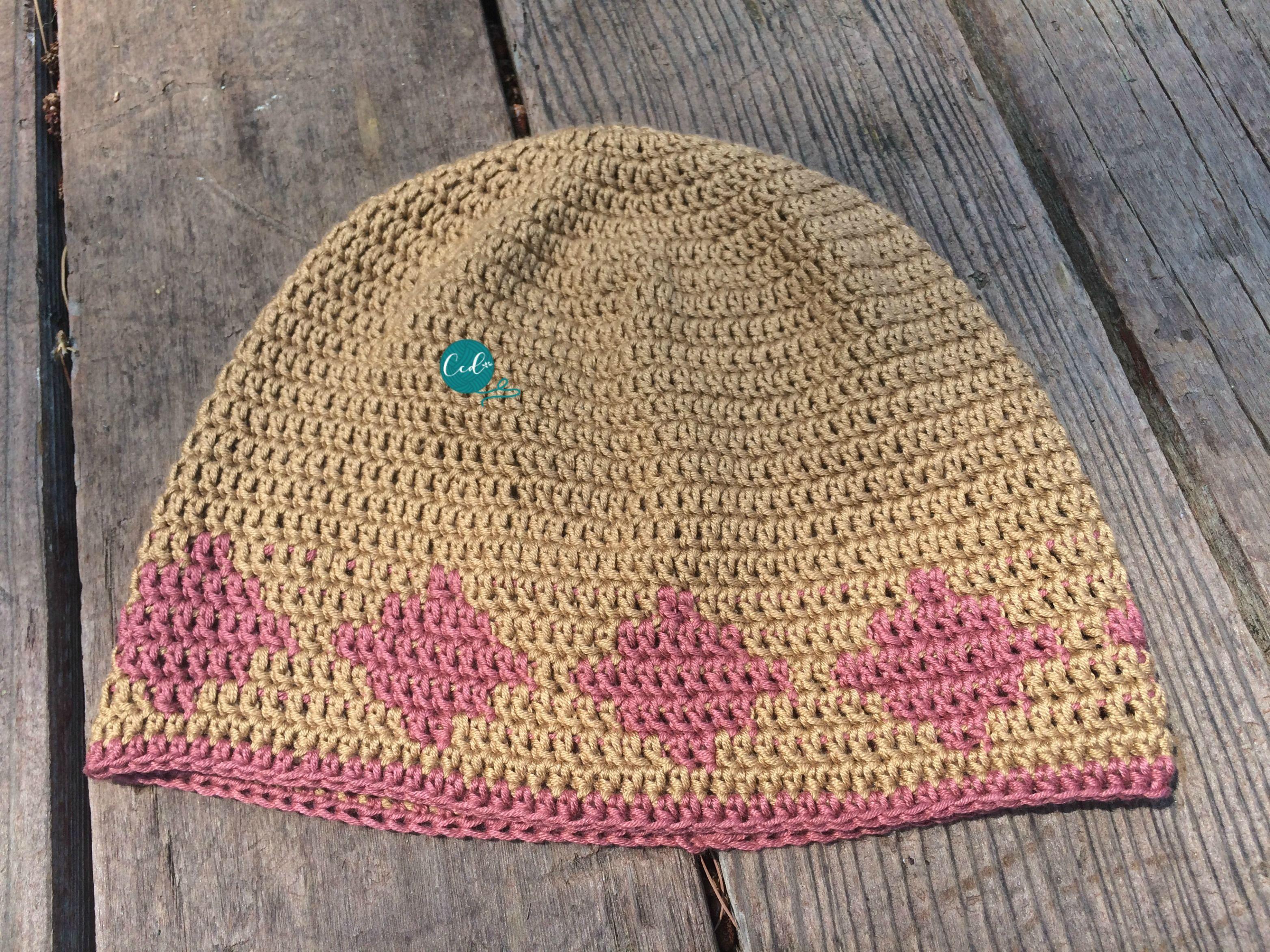 Crochet Summer Chemo Cap Pattern | Chemo caps pattern, Free crochet ...