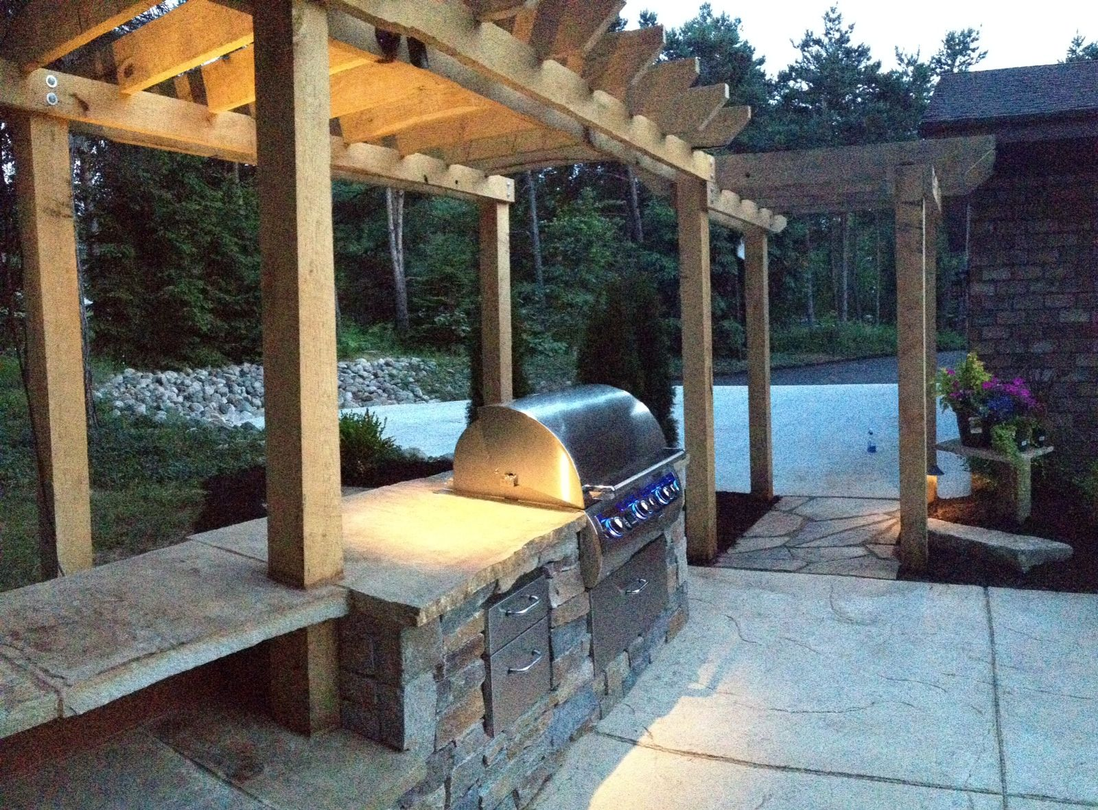 outdoor kitchen design by me installed by chris harris and dan allchin at outdoor essentials on outdoor kitchen essentials id=45319