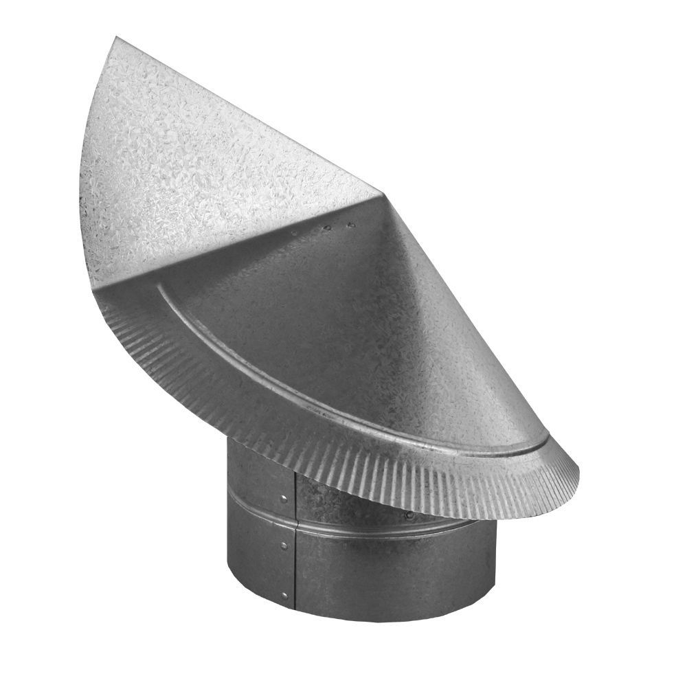 6 Round Wind Directional Chimney Cap Home Depot Cast Stone Mantel