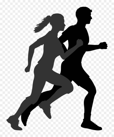 Running Silhouette Clip Art Silhouette Png Download 1500 1800 Person Silhouette Silhouette Clip Art Running Silhouette