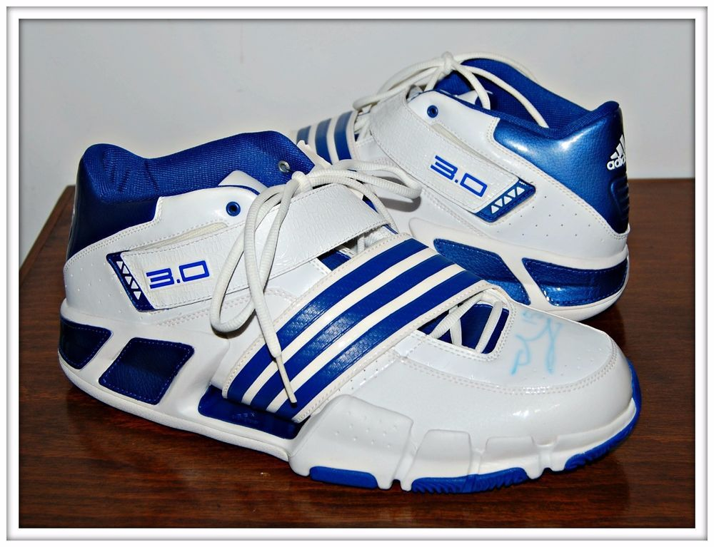ADIDAS AST PILRAHNA III MEN BASKETBALL SHOES SIGNED MBA HEDO TURKOGLU SIZE  14 #adidas #