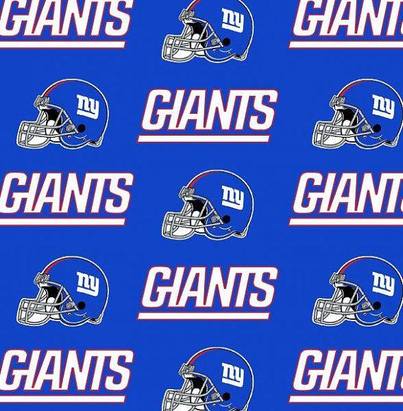 Nfl Cotton Fabric Collection Ny Giants Ny Jets Kansascity