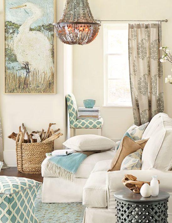 Coastal Wicker Baskets Decorative Storage Ideas For A Beach Rhpinterest: Decorative Storage Baskets For Living Room At Home Improvement Advice