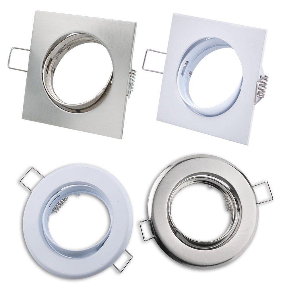 4 Type Silver HalogenLED GU10 MR16 Downlight Fitting ...