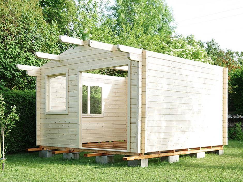 Gartenhaus Baugenehmigung, Bauweisen, Material