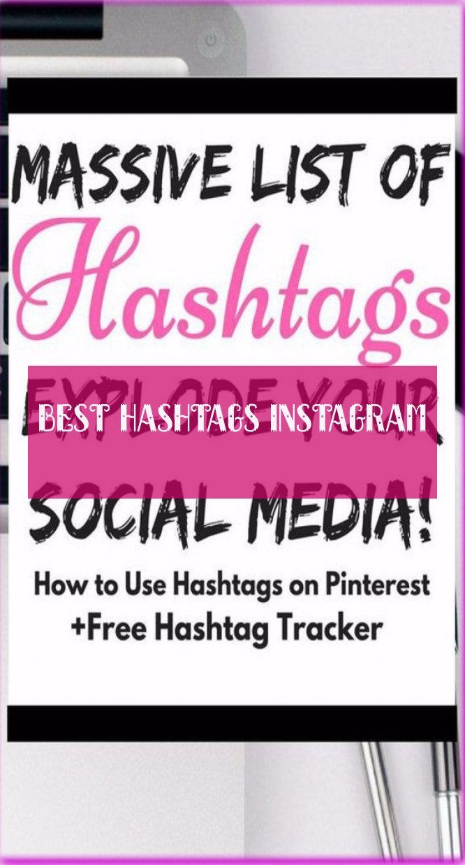 best hashtags instagram