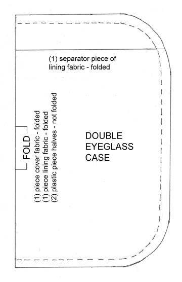 Eyeglass Case Pattern   quilts   Pinterest   Patterns, Sewing ... : quilted eyeglass case pattern - Adamdwight.com