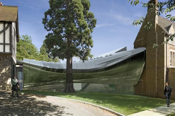 Middle East Center, St. Antony's College at the University of Oxford, U.K., by Zaha Hadid Architects.