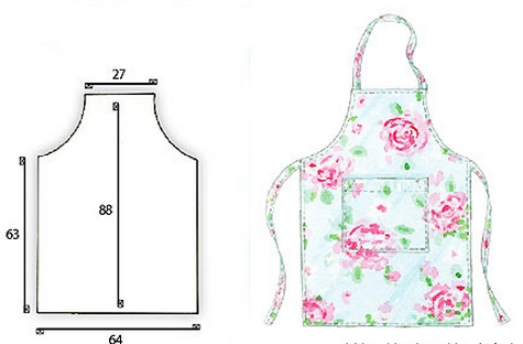 Priekšauts | šūšana | Pinterest | Apron, Patterns and Sewing projects