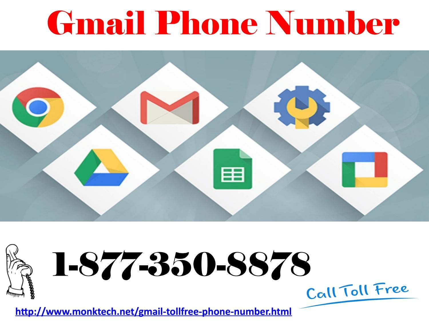Enjoy Reliable Services Of Ours Via Gmail Phone Number 1